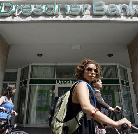 fusion dresdner bank commerzbank banken fusion betriebsrat fordert verzicht auf