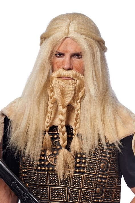 who is short blonde viking on vikings blonde viking wig and braided beard medieval costumes