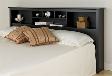Storage Headboard King Prepac Black Eastern King Storage Headboard Bsh8445 Furniture Outlet Jeromes Mor Furniture