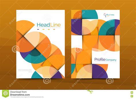 company profile design template vector business company profile brochure template vector