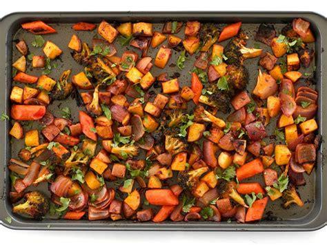 vegetables roasted harissa roasted vegetables budget bytes