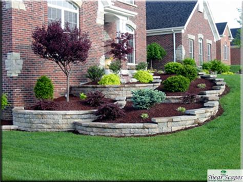 low maintenance landscaping around house 187 design and