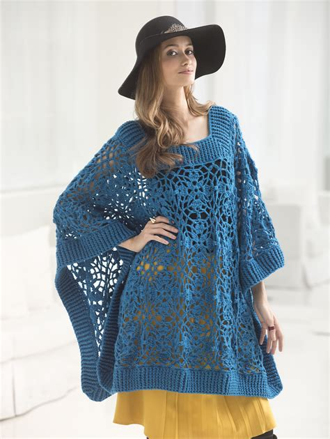 knitting pattern poncho with sleeves crochet poncho with sleeves pattern crochet and knit