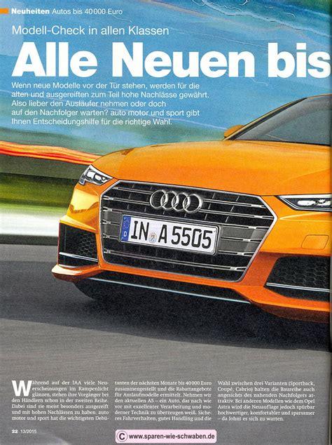 Auto Motor Sport Abo by Abo Pr 228 Mie Testbericht Zeitschrift Abo Auto Motor Und