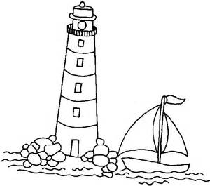Easy lighthouse drawings apps directories
