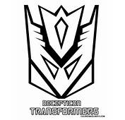 Decepticon Transformers Logo Coloring Pages &gt&gt Disney