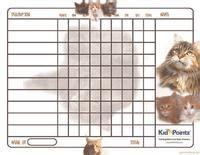 printable animal reward charts behavior charts cats theme kid pointz
