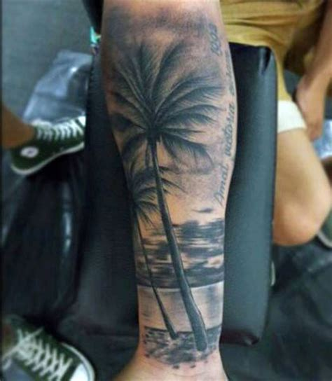 beach tattoos for men 75 tattoos for serene shore designs
