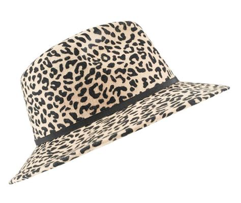 Animal Print Items To Go For by Leopard Print Hat 9 Stylish Leopard Print Items On A