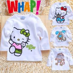 Free shipping baby clothing font b boys b font girls hello kitty 24m
