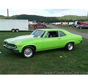 Drag Race Cars &gt Novas Picture Of Lime Green NOVA Car
