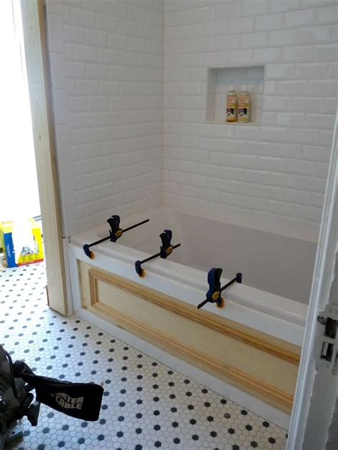 diy tub surround for the home pinterest tile master