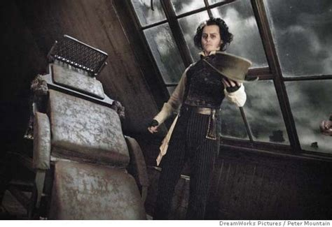 Tim Burtons Sweeney Todd by Review Depp In Sweeney Todd Nails But He Can T