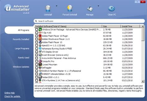 best uninstall programs best program to uninstall a program for free