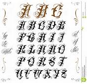 Tattoo Lettering Stock Vector  Image 44850986