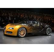 The New Bugatti Grand Sport Venet Model Car Is Displayed During A