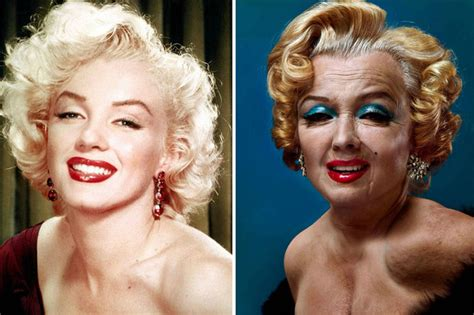 how did marilyn monroe die 17 celebrities reimagined as old people with photoshop