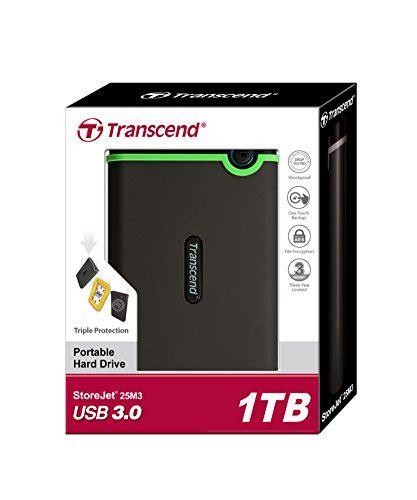 Harddisk Transcend 1 transcend 1 tb storejet m3 drop tested usb 3 0 external drive ts1tsj25m3