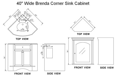 corner sink dimensions corner sink dimensions befon for