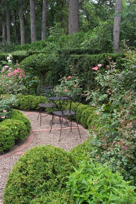 Shaded Patio Plants Delightful Pea Gravel Patio Decorating Ideas
