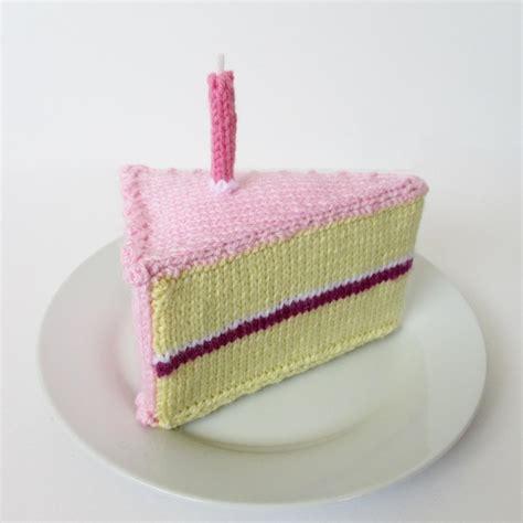 knitted birthday cake pattern birthday cake knitting pattern by amanda berry knitting