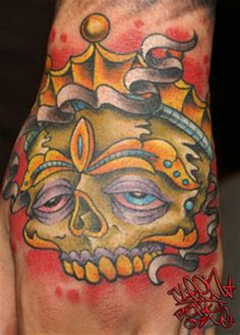 chrome gypsy tattoo by cleen rock tattoos rocks and