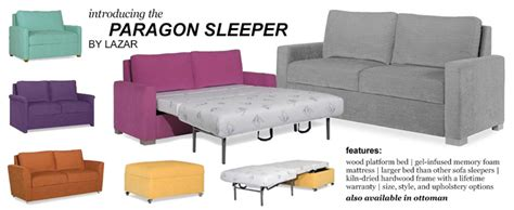 Paragon Sleeper by Lazar Leather Sofas Www Savvyhomstore