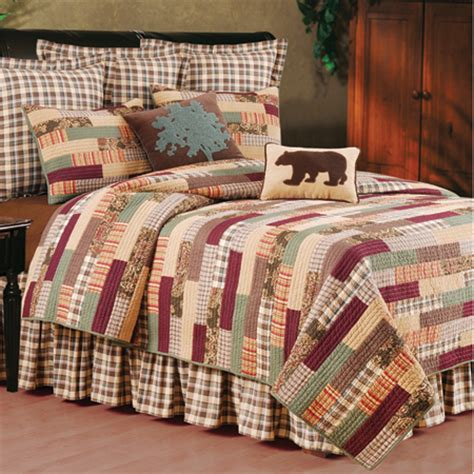 rustic quilt bedding nathan rustic quilt cabin bedding and western bedding