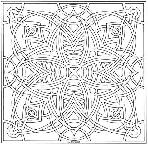 square mandala coloring pages free square mandala printable coloring pages