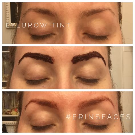 eyebrow tinting colours images