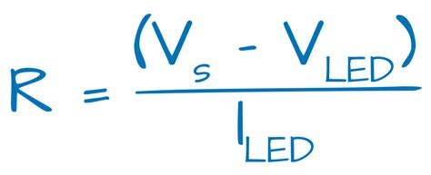 resistor value calculator for led c 225 lculos para dimensionar o resistor do led