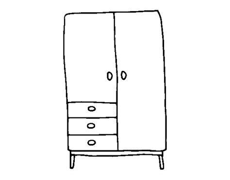 disegno armadio disegno di armadio da colorare acolore