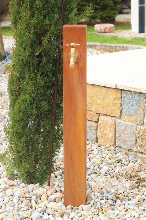 Zapfstelle Garten Selber Bauen by Zapfstelle Cordon 100 Inkl Wasserhahn Cortenstahl Wasserzapfstelle F 252 R Garten Ebay