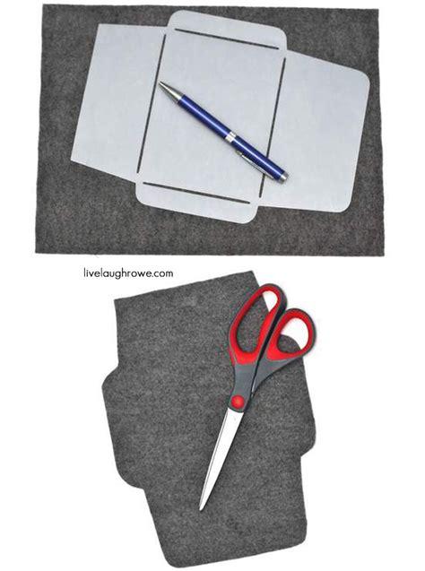 felt envelope pattern felt envelope tutorial live laugh rowe