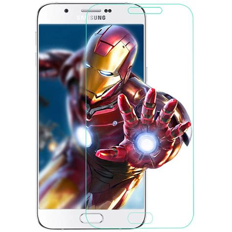Bumper Miror For A3 2016 Free Tempered Glass 9h 2 5d phone tempered glass for samsung galaxy s4 s5 s6 s7 j3 5 7 2016 a3 5 7 8 9 explosion