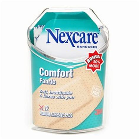 nexcare comfort bandages nexcare comfort strips comfort fabric bandages medium