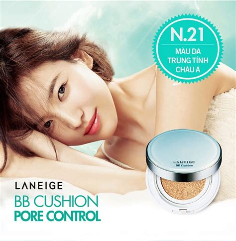 Withcase Laneige Bb Cushion Pore phấn nước laneige bb cushion pore spf 50 pa