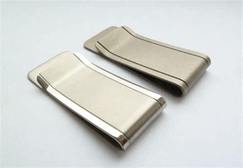 titanium money clip titanium money clip