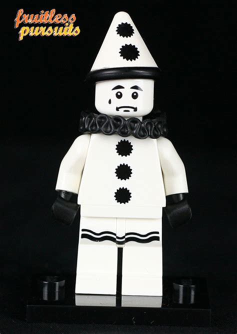 Lego Sad Clown Series 10 fruitless pursuits review oh yeah lego minifigures