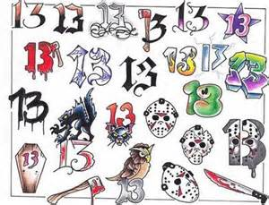 classic 13 dollar friday the 13th tattoos by artisanal