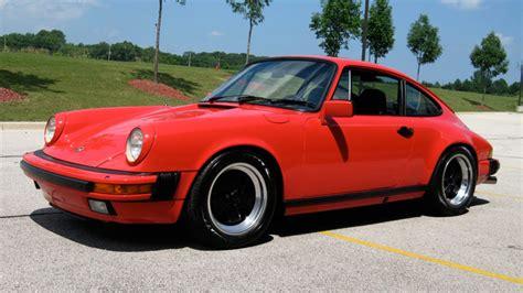 Porsche 911 Carrera 1984 by 1984 Porsche 911 Carrera Coupe Guards Red Black 31 954