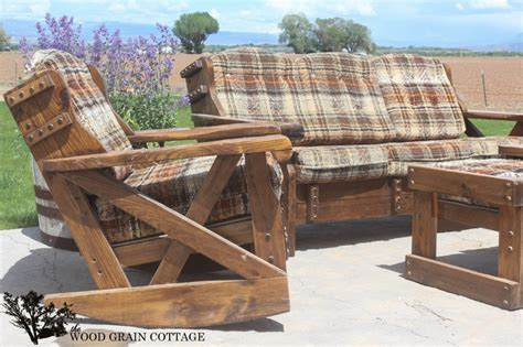 Outdoor Patio Furniture Makeover The Wood Grain Cottage Cottage Outdoor Furniture