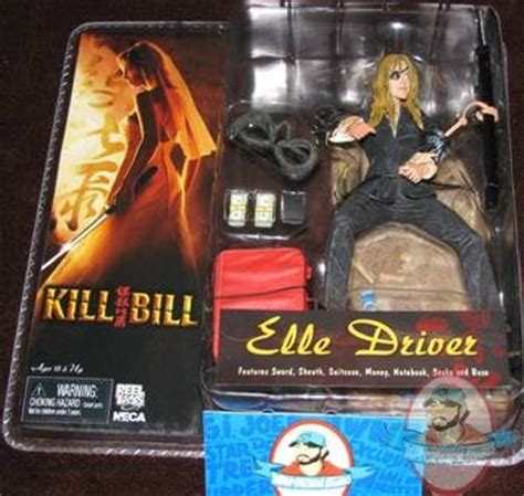 i m blowing money killing bills black mamba numbnuts kill bill elle driver neca reel toys moc daryl hannah