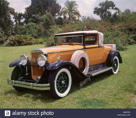 1930s Cadillac by 1920s 1930s Cadillac Convertible Roadster Yellow And Black