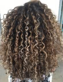 partial highlight pattern curly hair curl envy mane interest