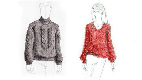 knit illustration fashion illustration tutorial knits drawing tutorials