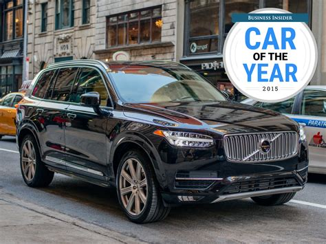 volvo truck of the year volvo xc90 business insider 2015 car of the year