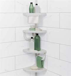 shower caddy portable bathroom shelf organizer corner rack