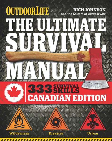 hiking survival on mount books the ultimate survival manual canadian edition outdoor