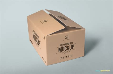 Mockup Design Box | free packaging box mockup zippypixels